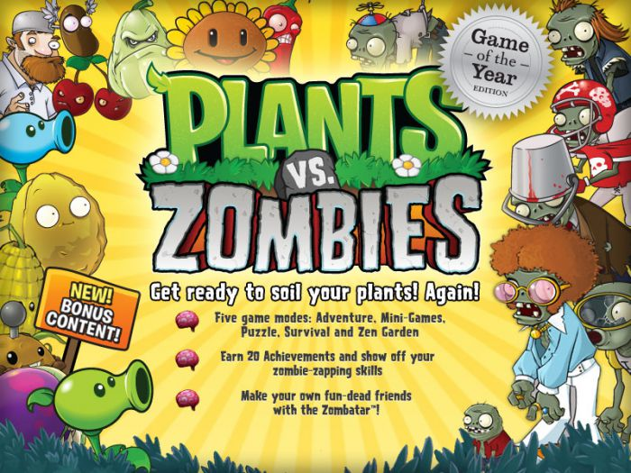 Plants vs. Zombies GOTY Edition v1.2.0.1095 RUS