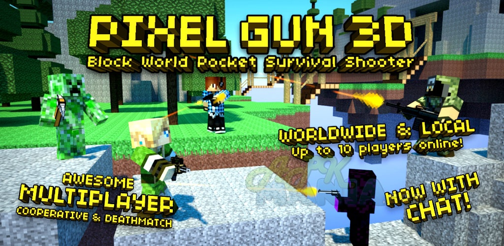 Для android 1592 pixel gun 3d pro minecraft ed v8 3 1