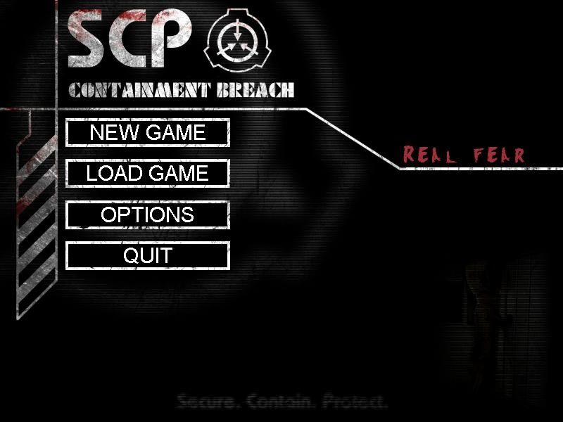 SCP - Real fear v0.1