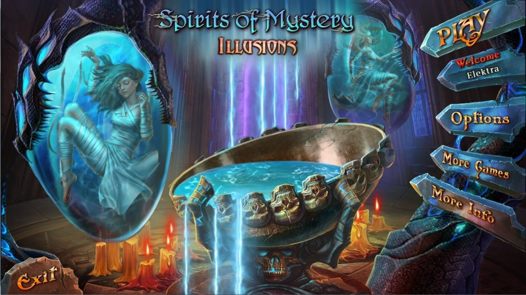 Spirits of Mystery 8: Illusions