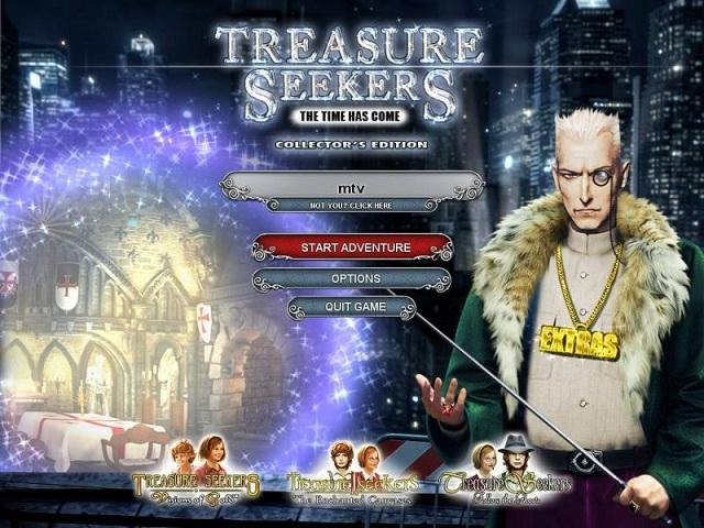 Легенды 4. Время пришло / Treasure Seekers 4: The Time Has Come Collector's Edition