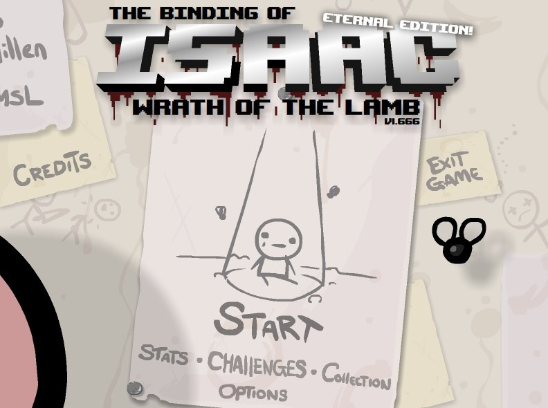 The Binding of Isaac: Wrath of the Lamb v1.666 Eternal Edition