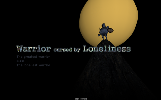 Warrior Cursed By Loneliness